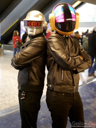 Daft Punk - Montreal Mini Comiccon 2016 - Photo by Geeks are Sexy