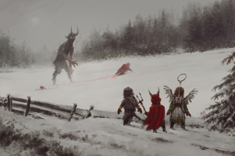 The Most Epic And Awesome Christmas Painting Of All Time Other Really Cool Pieces Pics