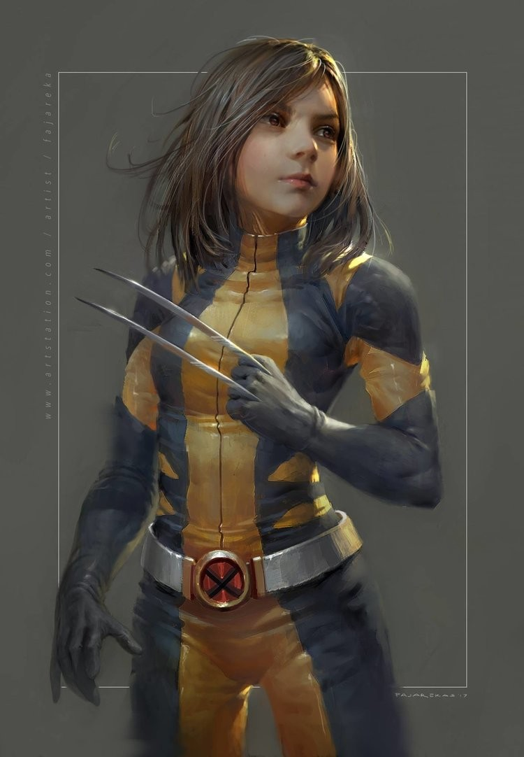 A fantastic illutration by Fajareka Setiawan picturing a young X-23 in a Wolverine inspired costume. I also like the fact that the artist inspired himself ...  sc 1 st  Geeks Are Sexy & Amazing Fan Art Pictures Young X-23 in Wolverineu0027s Costume