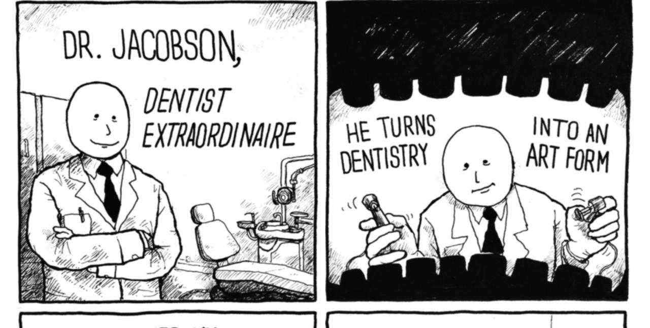 Dr. Jacobson Dentist Extraordinaire Comic