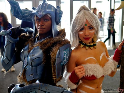 Sejuani and Nidale - Ottawa Comiccon 2017 - Photo by Geeks are Sexy