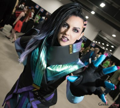 Sombra (Overwatch) by Fantasy Ninja - Ottawa Comiccon 2017 - Photo by Geeks are Sexy