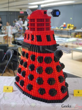 LEGO Dalek - Geekulture Lanaudiere 2017 - Photo by Geeks are Sexy