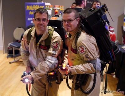 Ghostbusters - Geekulture Lanaudiere 2017 - Photo by Geeks are Sexy