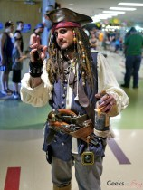 Jack Sparrow - Geekulture Lanaudiere 2017 - Photo by Geeks are Sexy
