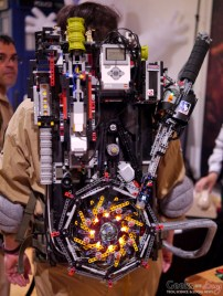 LEGO Proton Pack - Geekulture Lanaudiere 2017 - Photo by Geeks are Sexy