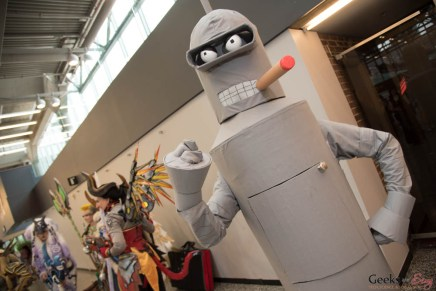 Bender - Montreal Comiccon 2017 - Photo by Geeks are Sexy
