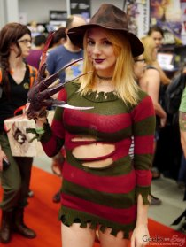 Freddy - Montreal Comiccon 2017 - Photo by Geeks are Sexy