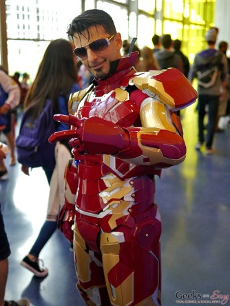 Iron Man - Montreal Comiccon 2017 - Photo by Geeks are Sexy