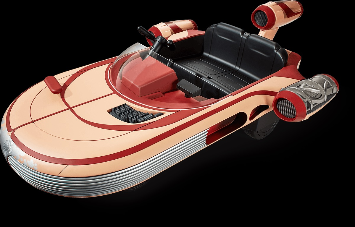 Luke Skywalker's Landspeeder Now For Kids