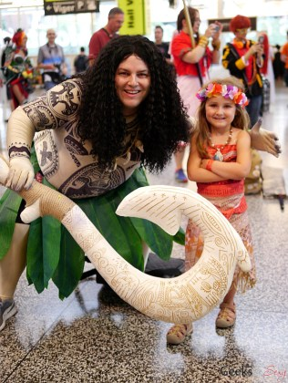 Moana Cosplayers - Montreal Comiccon 2017 - Photo by Geeks are Sexy