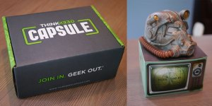 Thinkgeek Now Has a Monthly Subscription Box: The Thinkgeek Capsule!