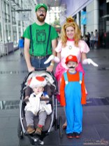 Mario and Friends (Family) – Quebec City Comic Con 2017 – Photo by Geeks are Sexy