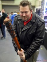 Negan (The Walking Dead) – Quebec City Comic Con 2017 – Photo by Geeks are Sexy