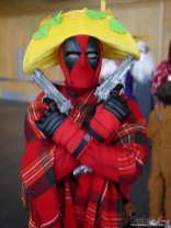 Taco Deadpool – Quebec City Comic Con 2017 – Photo by Geeks are Sexy