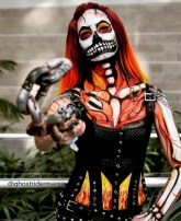 @ghostridermama as Ghost Rider