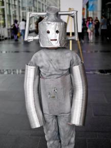Leo as a Cyberman
