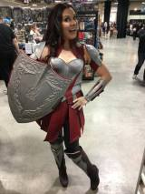 Shawn's Wife as Lady Sif