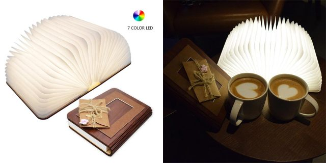 Want A Lamp That Looks Like A Book