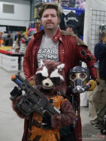 Star Lord and Rocket Racoon - Ottawa Comiccon 2018 - Photo by Geeks are Sexy