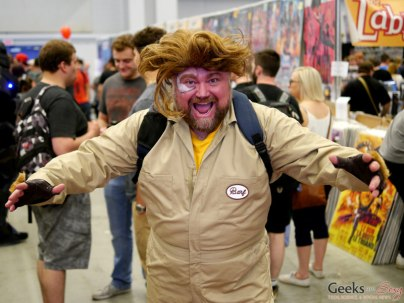 Barf (Spaceballs) - Montreal Comiccon 2018 - Photo by Geeks are Sexy