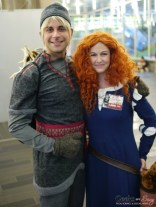 Kristoff and Merida - Montreal Comiccon 2018 - Photo by Geeks are Sexy