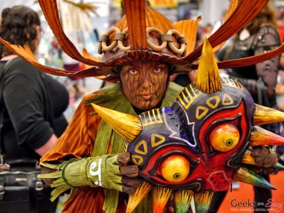 Majora's Mask - Montreal Comiccon 2018 - Picture by Geeks are Sexy