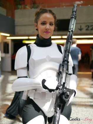 Stormtrooper - Montreal Comiccon 2018 - Photo by Geeks are Sexy