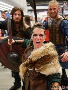 Vikings - Montreal Comiccon 2018 - Photo by Geeks are Sexy