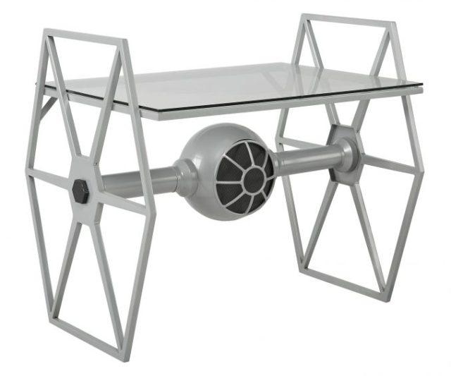 Gorgeous Star Wars Tie Fighter Desk