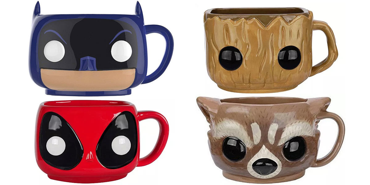 POP Home Mugs: Funko Brings Pop Culture Into Your Office or Kitchen