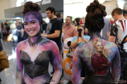 Savior Body Paint - Montreal Comiccon 2018 - Photo by Geeks are Sexy