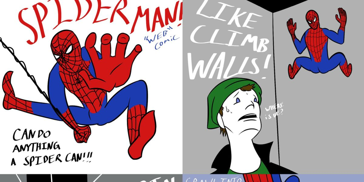 Spider-Man Can Do Anything a Spider Can Comic