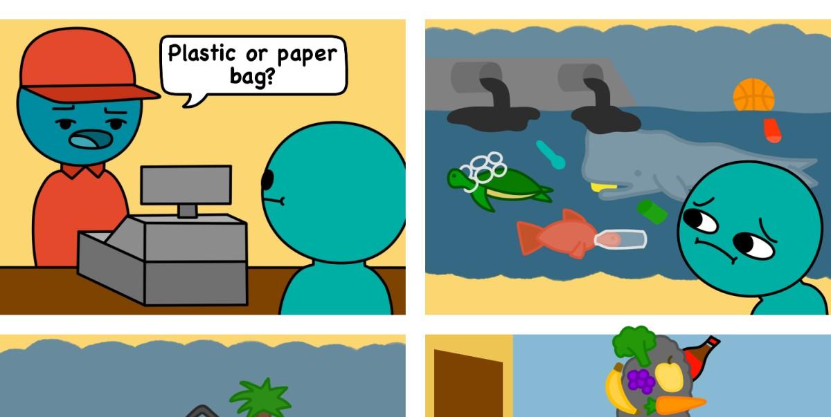 Bag Comic