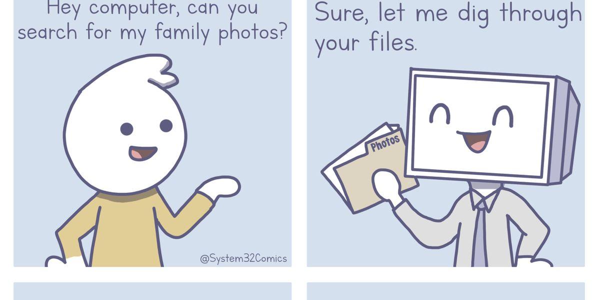 Family Photos Comic