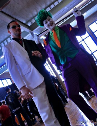 Two-Face and Original Joker - Shawicon 2019