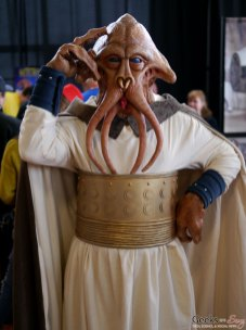 Squid Face from Return of the Jedi - Shawincon 2019