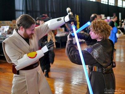Obi-Wan vs. Anakin - Shawincon 2019