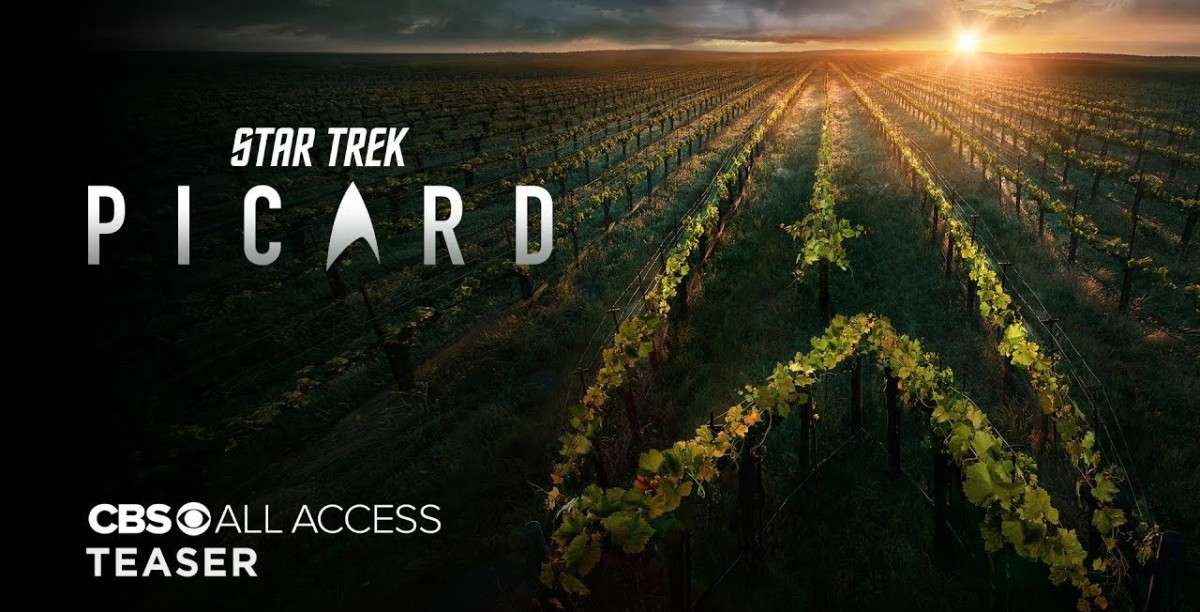 The First Trailer for STAR TREK: PICARD is Here!