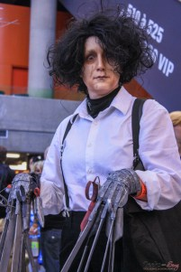 Edward Scissorhands - Photo by Geeks are Sexy at Montreal Comiccon 2019