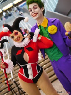Harley and The Joker - Photo by Geeks are Sexy at Montreal Comiccon 2019