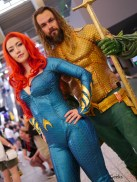 Mera and Aquaman - Photo by Geeks are Sexy at Montreal Comiccon 2019