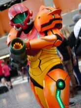 Samus Aran - Photo by Geeks are Sexy at Montreal Comiccon 2019