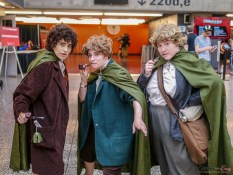 The Hobbits - Photo by Geeks are Sexy at Montreal Comiccon 2019