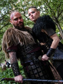 Vikings - Photo by Geeks are Sexy at Montreal Comiccon 2019