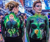 Harry Potter Body Painting - Photo by Geeks are Sexy at Montreal Comiccon 2019