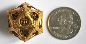 These Double-Layered D20s are Jaw-Dropping