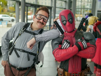 Peter and Deadpool - Quebec Comiccon 2019 - Photo by Geeks are Sexy