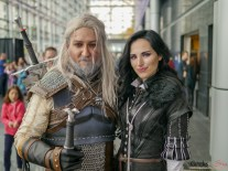 Geralt and Yennefer - Quebec Comiccon 2019 - Photo by Geeks are Sexy