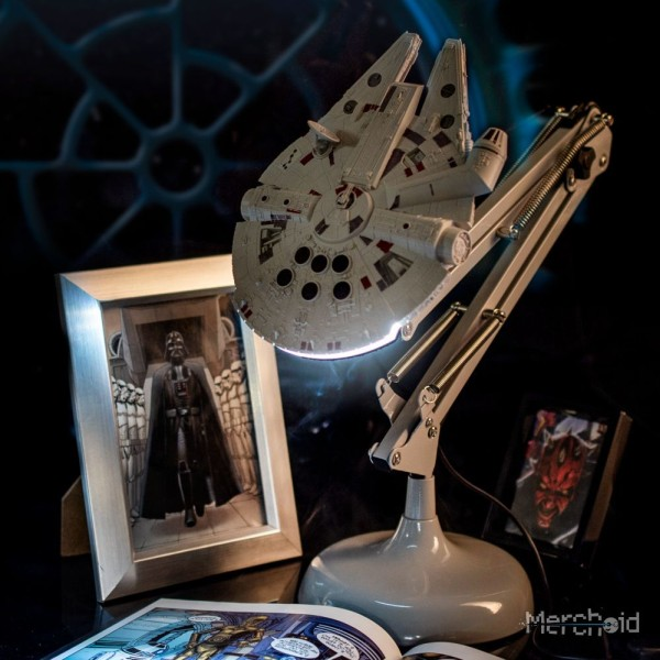The Fastest Hunk of Junk in the Galaxy is Now a Gorgeous Desk Lamp